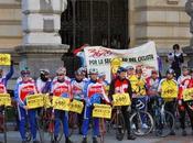Donde estar, cuando estar. Diputacion Bilbao respeto Ciclista
