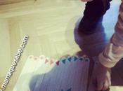 Actividad infantil: jugamos depresores para aprender colores