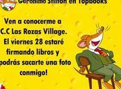 Geronimo Stilton estará Rozas Village Madrid, buen #planniños mucho