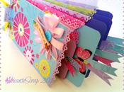 Mini álbum series three little candies ..Zoe, Emma Oscar