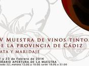 Muestra Vinos Tintos provincia Cádiz: febrero 2014