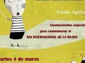 marzo, 19:00 horas, CUENTACUENTOS ESPECIAL para conmemorar Internacional Mujer.
