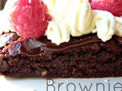 Brownie Chocolate crema Mascarpone, almendra frambuesas.