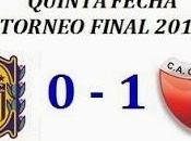 Rosario Central:0 Colón:1 (Fecha