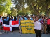 Marchan Neiba contra violencia mujer.