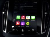 luce Apple CarPlay dentro Volvo