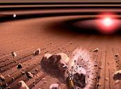 Aglomeraciones perturba cometas
