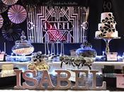 Mesa dulce para cumpleaños Isabel