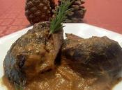 Carrilleras (galtas) cerdo crema verduras vino Priorato