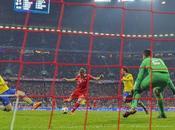 Bayern empató Arsenal pero clasificó cuartos final