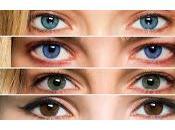 Cómo eres según color ojos
