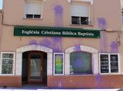 Grupo radical 'Arran' ataca iglesia evangélica Tarragona