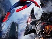 "Spidey rhino nuevo cartel promocional ""the amazing spider-man poder electro"""