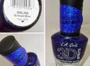 Brilliant Blue L.A. Girl Effects