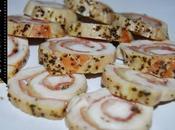 Rollos Pechuga pollo rellenas jamón serrano queso horno