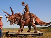 dinosaurios chatarra John Lopez