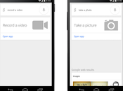 Búsqueda Google Android incorpora comandos para capturar fotos vídeo