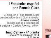 ¡¡Pamela Clare visita España Marzo!!