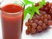 Uvas rojas, corazón contento