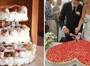 Tortas boda creativas: algunas ideas sugerencias