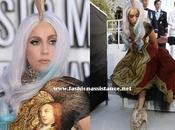 Lady Gaga impactantes modelos Premios MTV. Video Music Awards