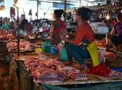 mercados Vientiane