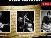 Trio Edition. Gira española Abril 2014