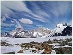 Ascensión Volcán Lautaro, Hielos Continentales.