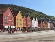 Bergen; capital fiordos occidentales