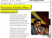 Maduro York Times: gran parte cobertura mediática tergiversado realidad Venezuela