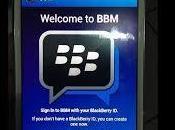 Blackberry Messenger llega Android