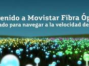 Llega fibra óptica Movistar