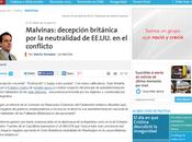 Martínez consideró agravio Vido petrolera británica caídos Malvinas
