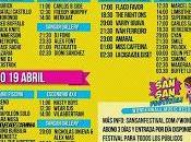 Distribución días horarios SanSan Festival 2014