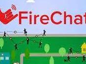FireChat, WhatsApp funciona internet
