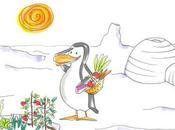 Audiocuento: pingüino vegetariano poco serio