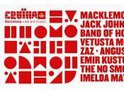 Cruïlla Barcelona: Macklemore Ryan Lewis, Jack Johnson, Band Horses...