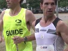 Tres atletas españoles discapacidad visual correrán Maratón Londres