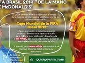 Promoción McDonald's para llevar niños Mundial Fútbol Brasil