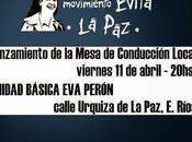 nuestra ciudad, abril presenta Mesa Movimiento Evita