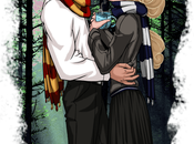 """Retrato personajes disney como estudiantes """"hogwarts"""""""