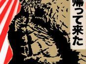 Nuevo cartel godzilla, inspirado clásico japones 1954