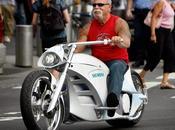 Recordando increíble moto eléctrica (Orange County Choppers) para Siemens, Smart Chopper