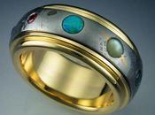 Anillo Sistema Solar creado meteorito Gibeon