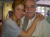 Shakira dedica unas palabras García Márquez