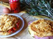 Tortilla rellena lectura, picnic perfecto.