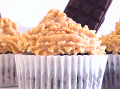 Cupcakes chocolate café