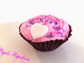 Mini cupcakes sirope fresa