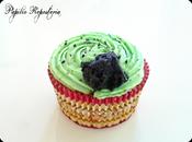 Cupcakes verde (especial Reyes Magos)