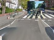 Portadas discos… pero vistas desde ojos Google Street View